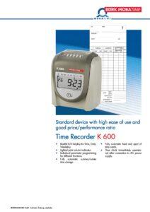 800_PR_Time_Recorder_K600.pdf - Thumbnail